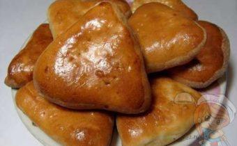 Рецепт печеных бездрожжевых пирожков