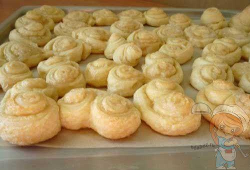 Как приготовить печенье Завиточки без дрожжей