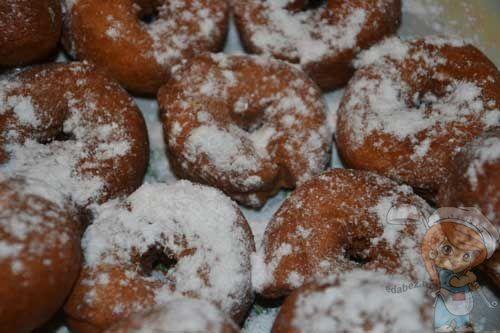 Пышные пончики со сгущенкой рецепт 195