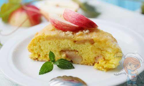 Как приготовить пирог с яблоками