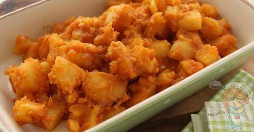 Тушеная картошка без мяса рецепт с фото