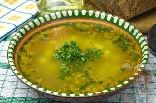 Рецепт супа без мяса