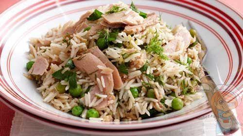 Рецепт риса с тунцом