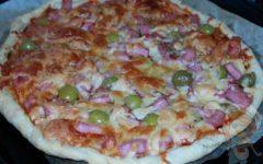 Пицца с оливками - пошаговый рецепт