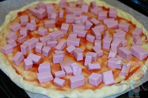 Колбаса на основу пиццы