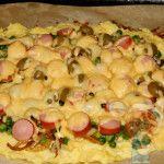 Готовое блюдо - пицца без муки