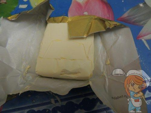 Замороженный маргарин