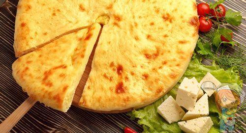 Рецепт осетинского пирога с сыром и шпинатом