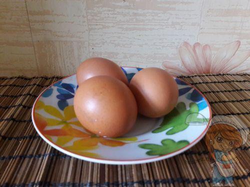 Моем яйца
