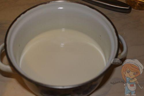 Кипятим молоко