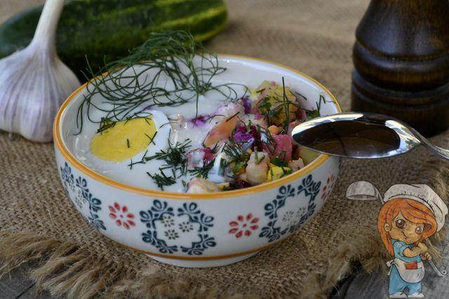 Свекольник с яйцом, рецепт с фото