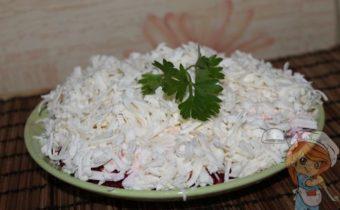 Салат Трио без мяса