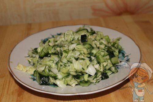 Салат без лука