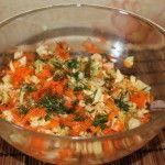 Простой и быстрый салат без лука