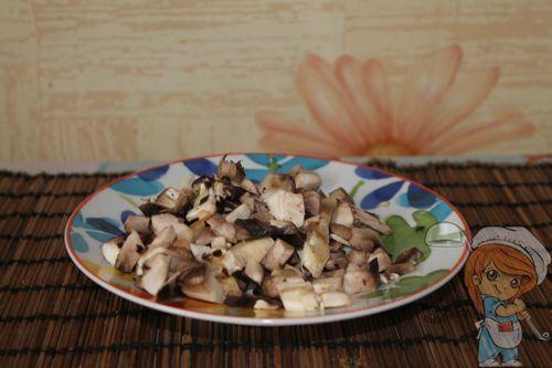 шинкуем грибы