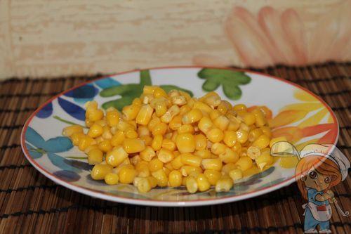 Подготавливаем кукурузу