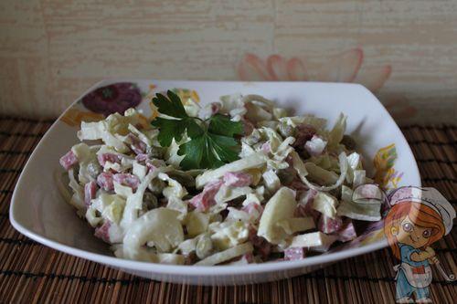 Салат без грибов