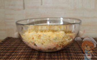 Салат без лука Хризантема