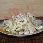 Салат без сыра