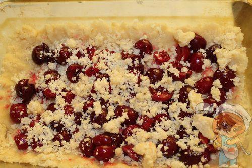 Готовим пирог с ягодами