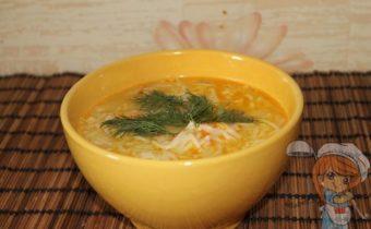 Суп без картошки готов