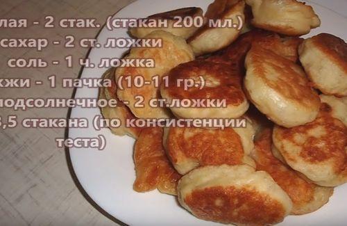 Рецепт оладушки на молоке вкусные рецепт с пошагово