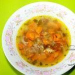 гороховый суп без картошки