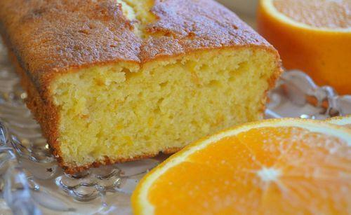 Рецепт постного кекса с апельсином