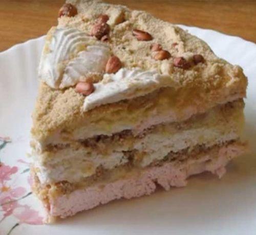 Зефирный тортик