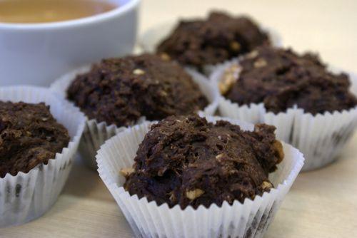 Рецепт кексов с шоколадом без яиц
