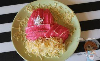 Новогодний салат без лука
