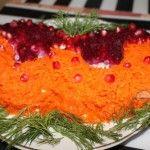 Салат карнавальная маска — красивое блюдо на новогодний стол