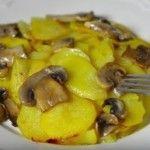 Картофель в сливках без сыра