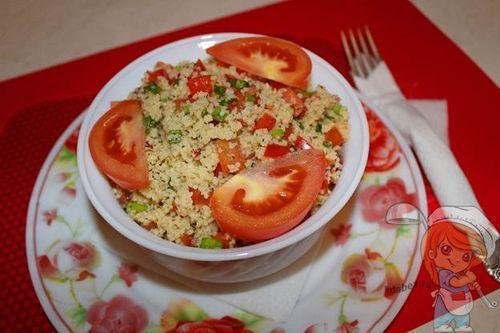 Праздничный вегетарианский сытный салат без мяса