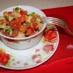 Рецепт салата без мяса