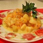 Готовим жаркое с картофелем и кабачками без мяса