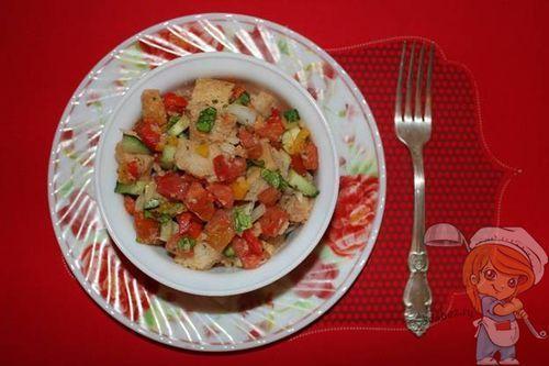 Салат без сыра и без мяса