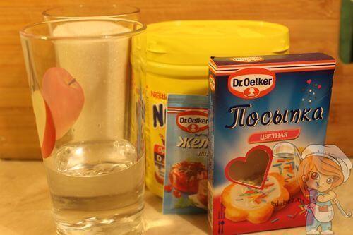 Рецептура глазури без молока