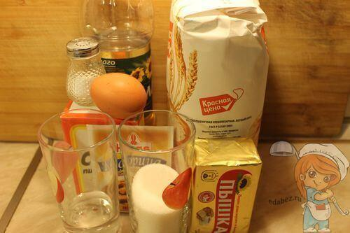 Рецептура печенья на сковороде