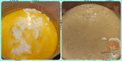 Заварной крем без яиц пошаговый рецепт с