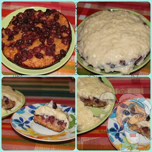 Промазываем пирог