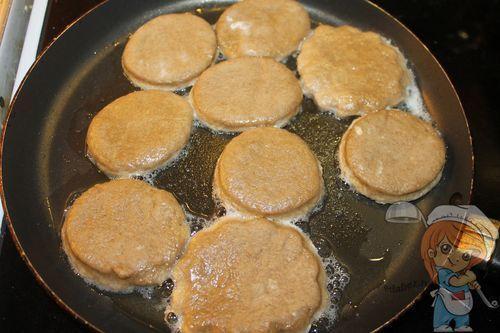 Обжариваем печенье
