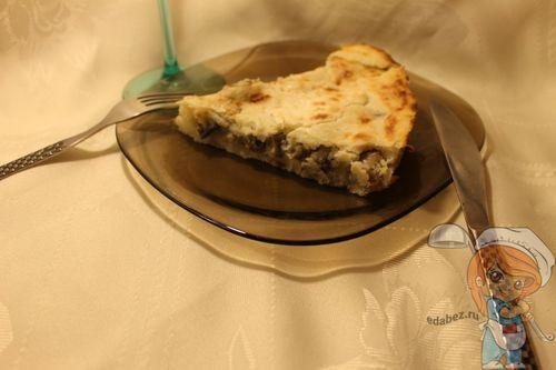 Картофельная запеканка без сыра