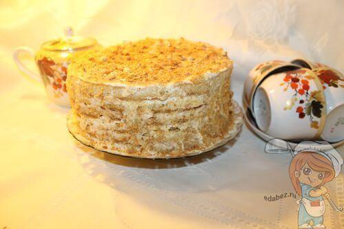 Торт без масла
