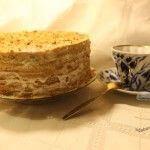 Рецепт торта без масла