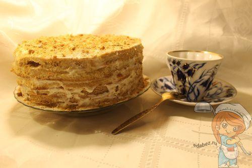Рецепт торт без масла и маргарина