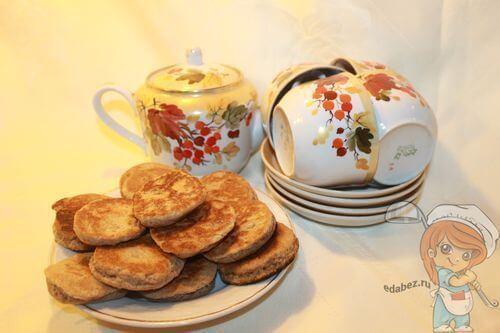 Печенье без сметаны к чаю