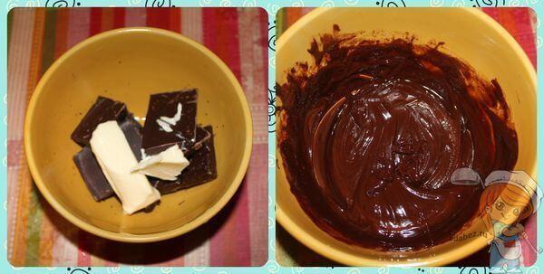 Сливочное масло и шоколад