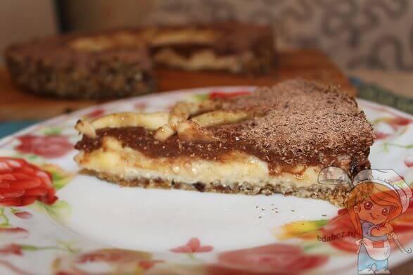 Кусочек сыроедческого торта