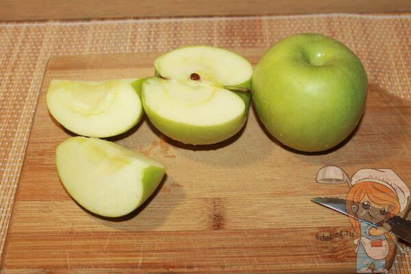 Яблоки для слоек